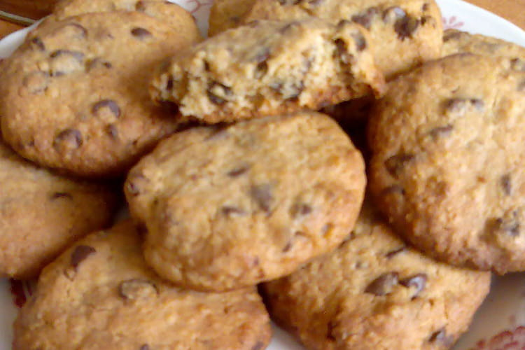 Cookies moelleux avoine, chocolat et banane