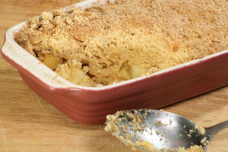 Crumble aux pommes : la meilleure recette