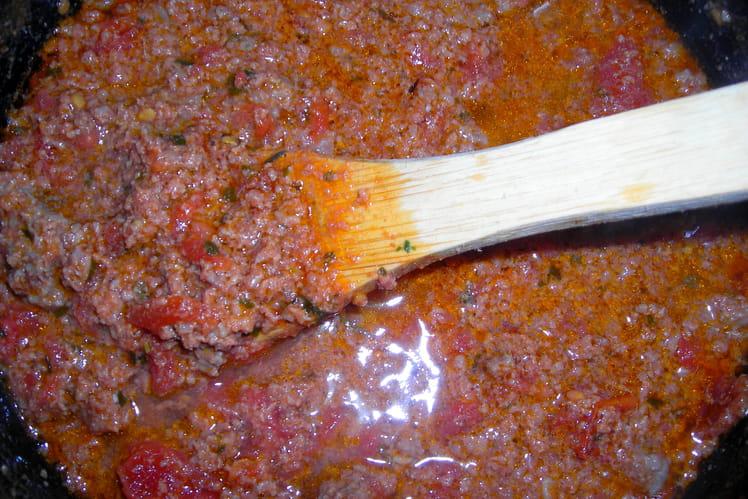 Sauce bolognaise à ma façon