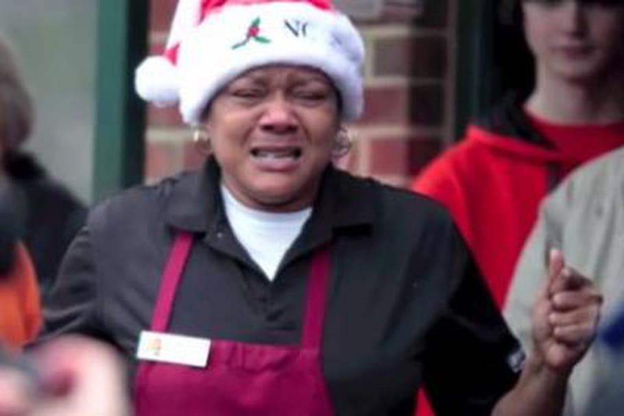 L'incroyable Noël d'une serveuse américaine