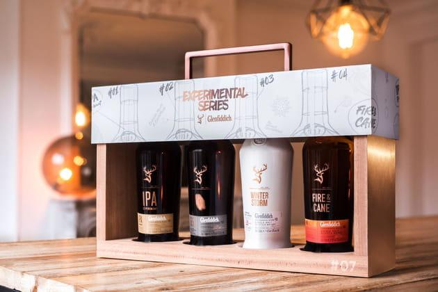 Le coffret Experimental Series de la Glenfiddich (Maison de Whisky)