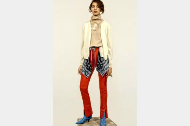Pantalon en cuir de Loewe