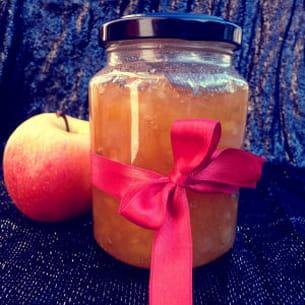 confiture pomme/gingembre