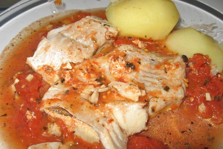Ragoût de poisson à la tomate