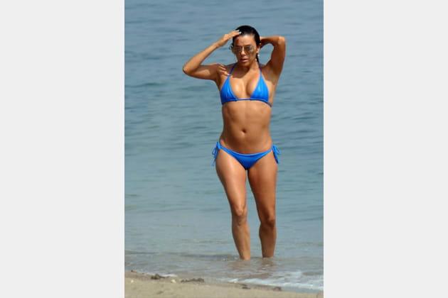 Eva Longoria, le grand bleu