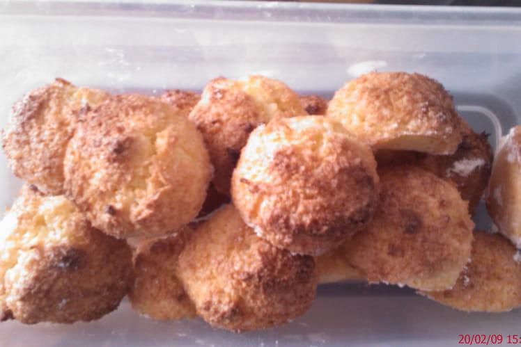 Rochers à la noix de coco pour les enfants