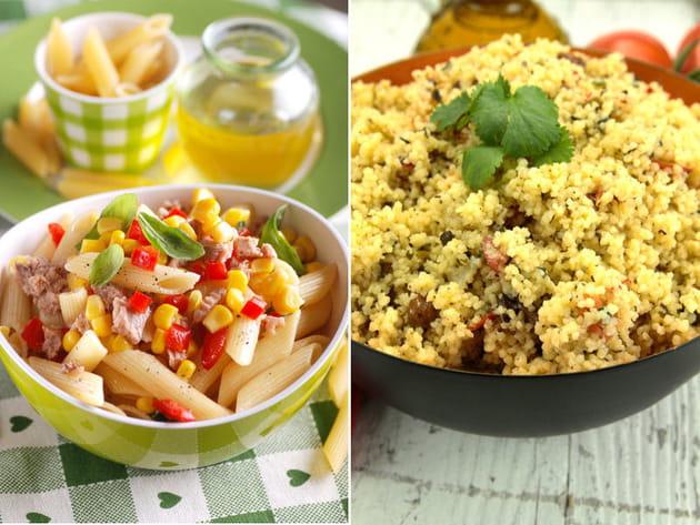 Salade de pâtes au thon ou taboulé ?
