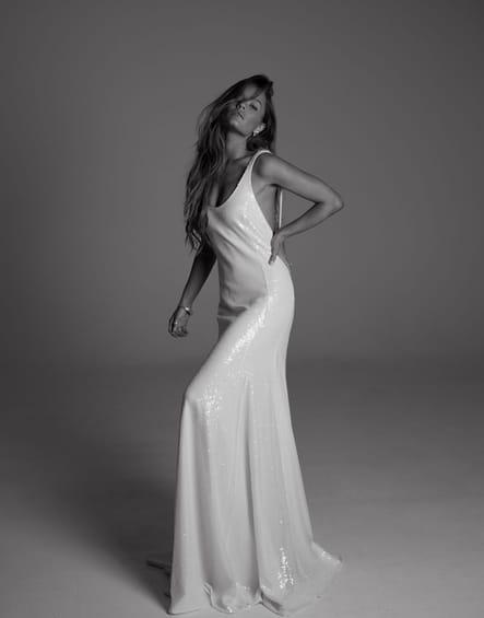 Robe de mariée Pearl, Rime Arodaky