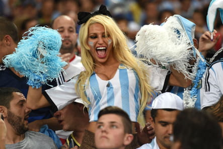 Supportrices sexy Coupe du monde 2014 Argentine