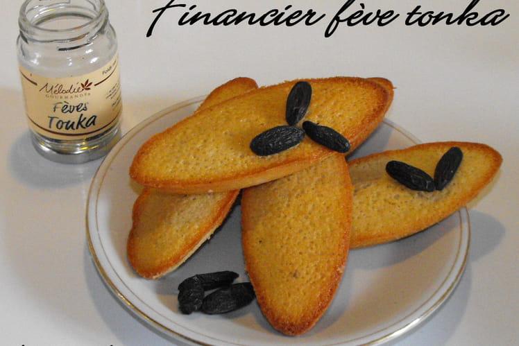 Financier à la fève tonka
