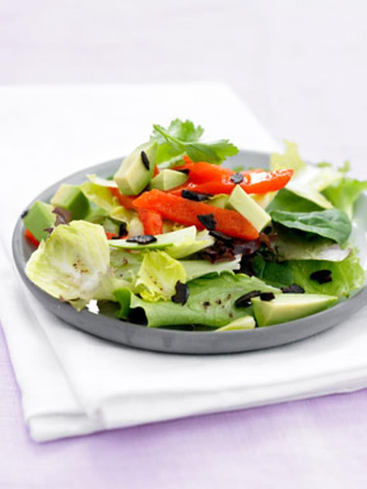 Recette De Salade D Avocat Aux Poivrons La Recette Facile