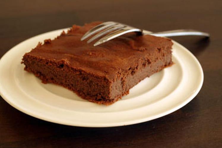 Moelleux au chocolat allégé