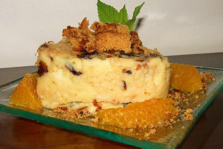 Gâteau de semoule pruneaux, pain d'épice