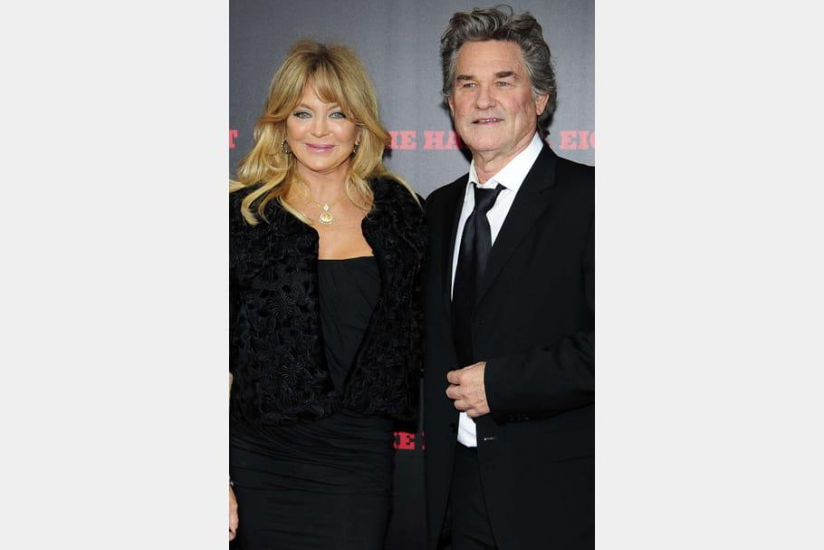 Goldie Hawn et Kurt Russell