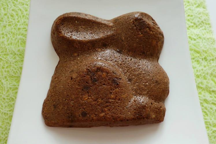 Tofucake chocolat coco au muesli avec psyllium, baobab et stévia