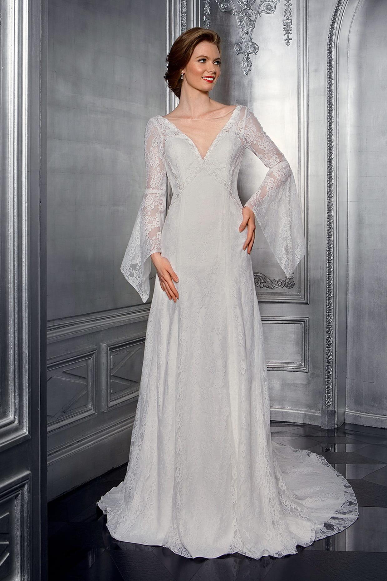 48e3601372 Robe de mariée Nathanaelle, Bella Créations