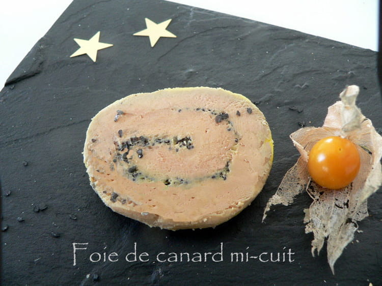 recette de foie gras de canard mi cuit. Black Bedroom Furniture Sets. Home Design Ideas