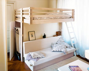 comme suspendue. Black Bedroom Furniture Sets. Home Design Ideas