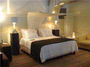 une climatisation de lit bien sophistiquée