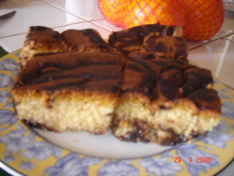 Recette de d licieux cake marbr aux d s de pruneaux la - Cuisiner les pruneaux ...