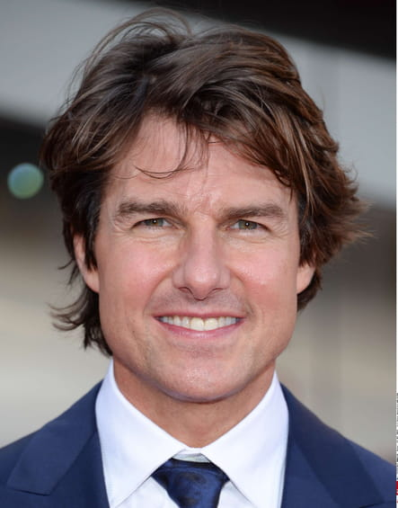 Tom Cruise sans barbe