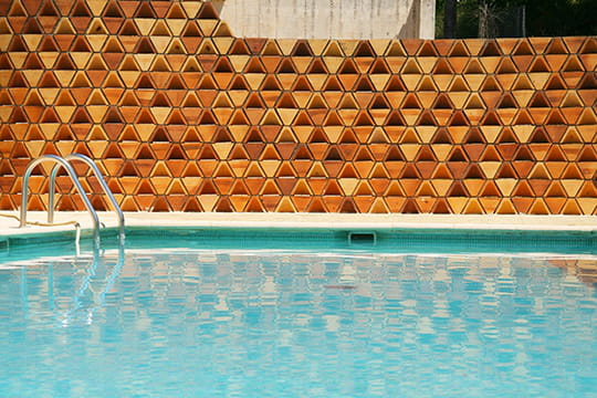 Mur triangulaire