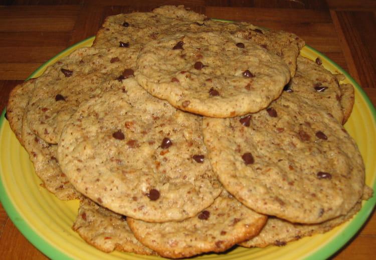 recette de cookies moelleux noisettes chocolat la. Black Bedroom Furniture Sets. Home Design Ideas