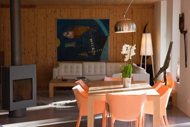 Une douce salle à manger