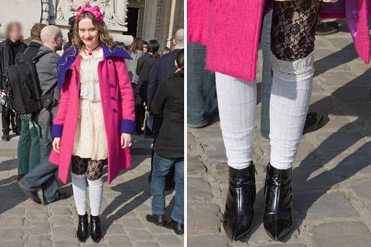 Fashion week : les street looks des défilés parisiens PAP automne-hiver 2011-2012 65
