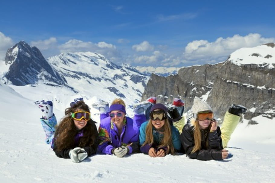 Où partir au ski entre copines ?