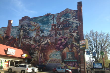 Mural 3: The Theater of Life par Meg Saligman