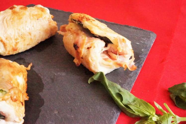 Saltimbocca de dinde à la mozzarella