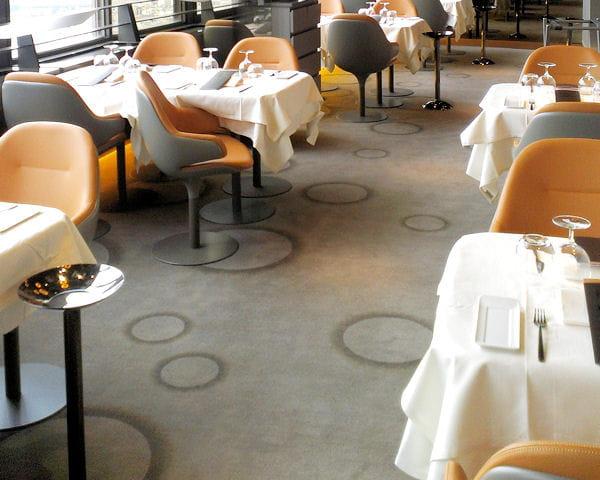Un univers graphique for Moquette restaurant
