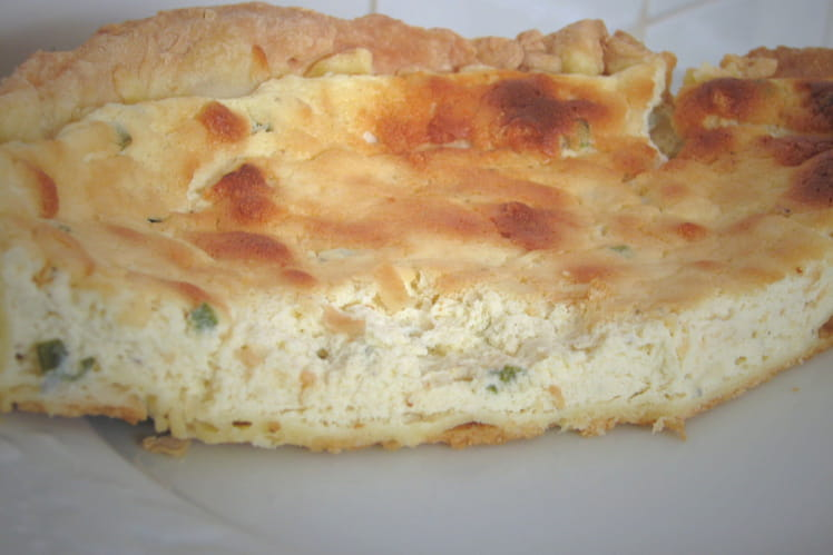Cheese tarte au gorgonzola