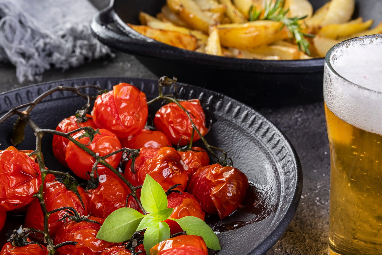 Recettes à la tomate confite