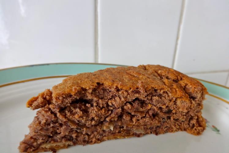 Gâteau sans gluten aux haricots secs