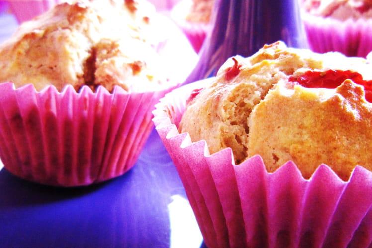 Muffins fraises-ricotta
