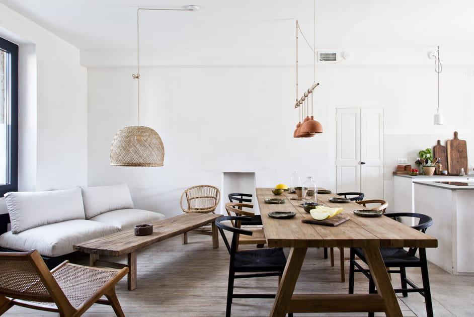 Une maison de vacances wabi-sabi version Méditerranée