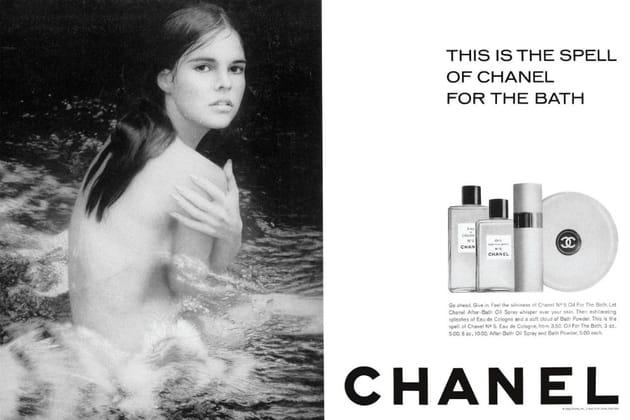 La campagne Chanel N°5de 1966