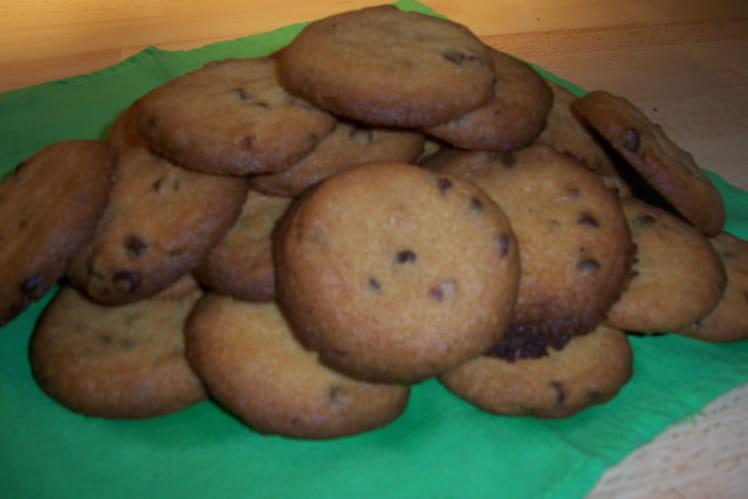 Cookies aux pépites de chocolat et nougatine