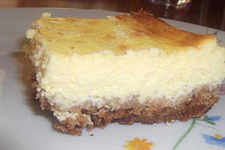 Cheesecake au citron, Philadelphia et fromage blanc