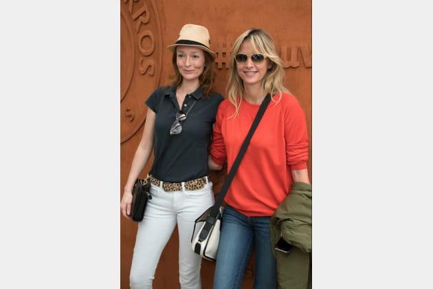 Audrey Marnay et Sarah Lavoine