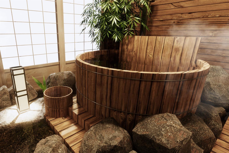 Baignoire japonaise et art du bain japonais: tout savoir avant de s'y plonger