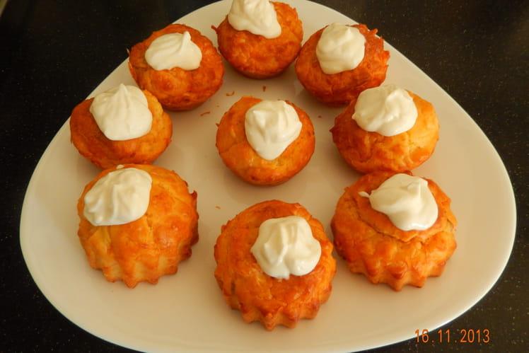 Cupcakes saumon fumé fromage frais