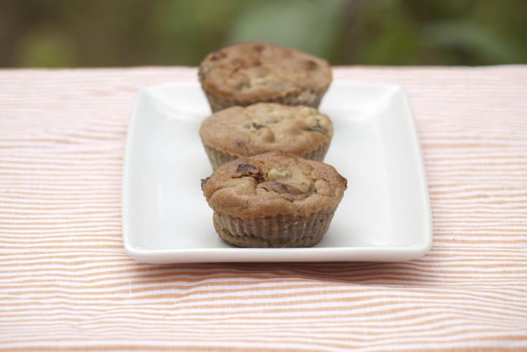 Cakes sans gluten châtaigne, tomates et câpres