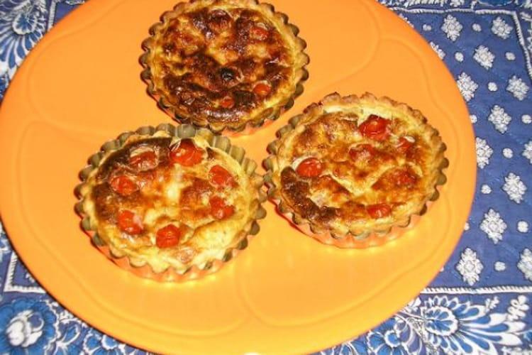 Tartelettes tomates-parmesan