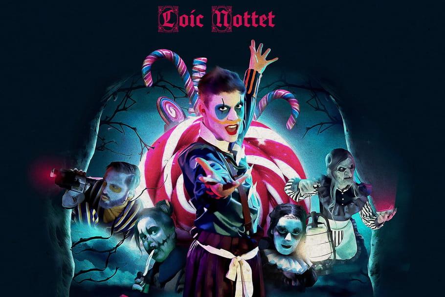 Loïc Nottet enchante Halloween avec Candy