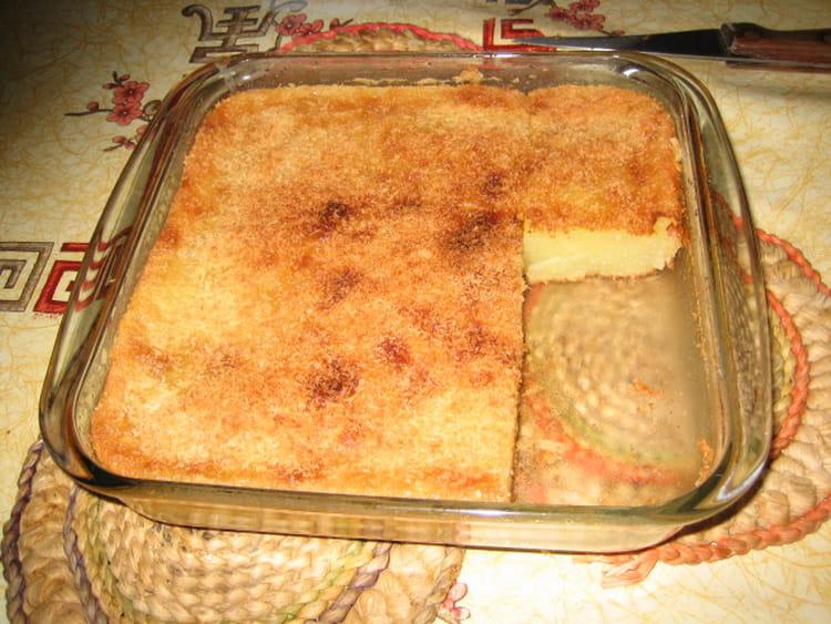 Recette de Gâteau au manioc : la recette facile on