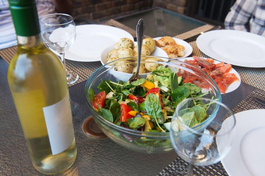 Quel vin pour accompagner une salade for Quel vin rouge pour cuisiner
