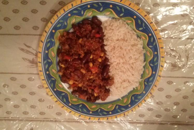 Chili con carne ultra rapide